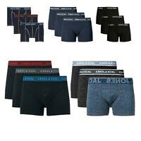 Men's Jack & Jones Classic Boxer Shorts Pack of 3 Stretch Cotton Underwear Pants