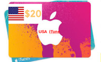 iTunes Card $20 US Dollar Redeem  Apple  USA  Itune Store Fast_Delivery