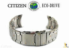 Citizen Eco-Drive AS8010-54A Silver Tone Stainless Steel Watch Band AS8010-54E