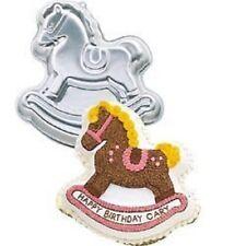 Wilton Cake Pan Baking Rocking Horse 2105-2388, 1984  Retired Wilton