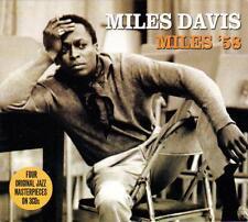 MILES DAVIS - MILES '58 - FOUR ORIGINAL JAZZ MASTERPIECES (NEW SEALED 3CD)