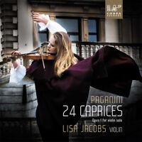 Niccolo Paganini : Paganini: 24 Caprices: Opus 1 for Violin Solo CD 2 discs