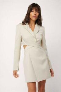 NWOT Mossman Breakeven Blazer Dress 8
