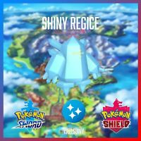 SHINY REGICE | BRAND NEW DLC CROWN TUNDRA POKEMON SWORD & SHIELD