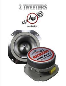 """2 Pack 400W 4"""" Titanium Bullet Super Tweeter Car Audio Audiopipe ATR-4053"""