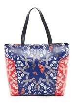 6d207953c4fed Ted Baker London Kyoto Gardens Studded Shoulder Bag BRT Blue Orig  219 NWT