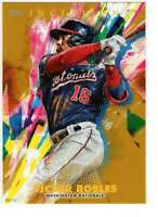 Victor Robles 2020 Topps Inception 5x7 Gold #24 /10 Nationals