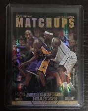 2014-2015 NBA Hoops Matchups Kobe Bryant and Lebron James 70/99, Artist Proof