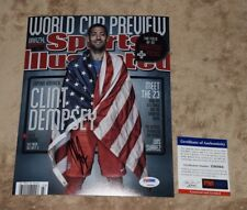 Usa Clint Dempsey Signed Autographed 8x10 Photo Psa/Dna Z96864 seattle sounders