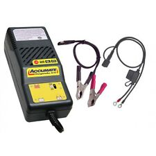 OPTIMATE ACCUMATE 6V / 12V MULTI STAGE BATTERY CHARGER GEL/MAINTENANCE FREE/ACID