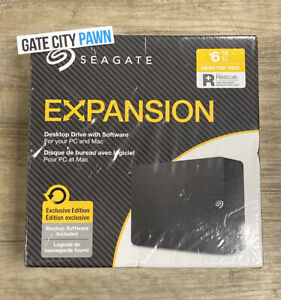 Seagate Expansion 6TB STKR6000400 BRAND NEW