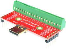 HDMI mini Type C Male socket Breakout Board, adapter,  eLabGuy HDMI-CM-BO-V1AS