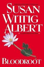 Bloodroot (China Bayles Mystery), Albert, Susan Wittig, 0425181901, Book, Accept