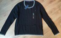Tommy Hilfiger Damen Pulli, Pullover, Sweater, Schwarz, Große: XL