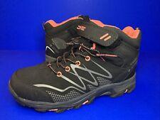 Hi tec Blackout Mid Waterproof Walking Hiking Boots Black Size 5 Uk With Bag Vgc