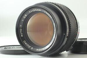 [N MINT] Olympus OM-SYSTEM E. Zuiko Auto T 100mm f/2.8 Portrait Lens From JAPAN
