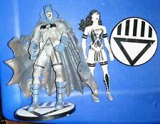 DC Blackest Night Black Lantern Martian Manhunter Batman & Wonder Woman Lot RARE