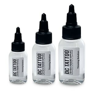 DC TATTOO Ink Thinning & Mixing Solution - 30ml 50ml 100ml