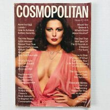 Vintage Cosmopolitan Magazine February 1977 Christina Ferrare Francesco Scavullo