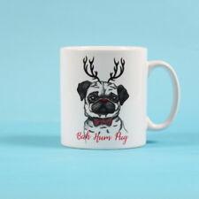 Bah Hum Pug Pug Mug Xmas Gift Christmas Pug Mug Pug Lover Pug Gift Coffee Mug