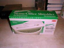 MINT GBC Shredmaster Home-Office Paper Shredder Model 40s in BOX