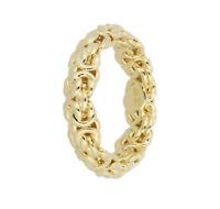 Milor Italy 14K Yellow Gold over Rasin Ring  Byzantine Band Ross Simons Andiamo