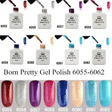 8stk/set 10ml BORN PRETTY Nagellack Shimmering UV Gellack Soak Off 6055-6062