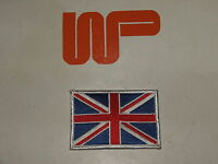 CLASSIC - MINI UNION JACK CLOTHE SEW-ON BADGE, Measures 75mm x 50mm
