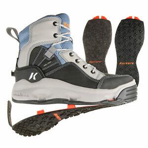 Korkers Women's BuckSkin Mary Wading Boots with Felt & Kling-On Soles
