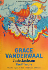 Grace Vanderwaal Jade Jackson 8/29/2019 Fillmore Poster Galine Tumasova F1649