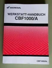 Werkstatthandbuch Honda CBF 1000 A  SC58 , Reparaturanleitung ab 2006