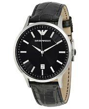 Men's Watches Emporio Armani AR2411 Classic Watch Leather Strap Quartz Date