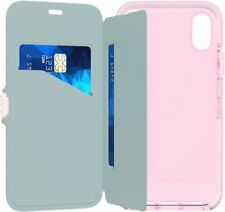tech21 Evo Wallet Drop Protection Case for iPhone X / XS - Pink
