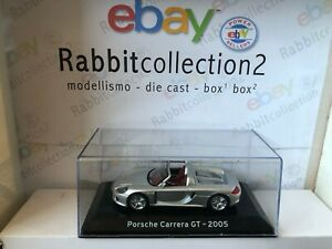 "Die Cast ""Porsche Carrera Gt - 2005 "" Supercar Scale 1/43"