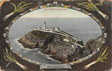 BR96641 holy head south stack lighthouse  valentine 32820 wales
