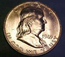 1949-D Franklin Half ~Choice Uncirculated ~Hard Franklin to find ☆Make An Offer☆