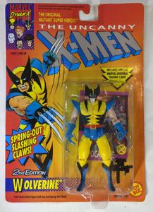 MOC 1992 Marvel 2nd Edition Wolverine Uncanny X-Men Action Figure ToyBiz 4931
