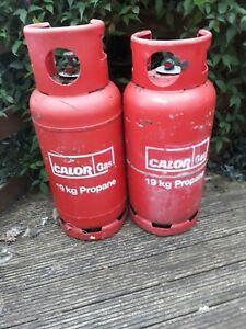 Calor Propane Gas Bottle 19kg Camping Caravan Empty Cooking Used