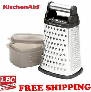 KitchenAid cheese grater stainless box 4 side grater