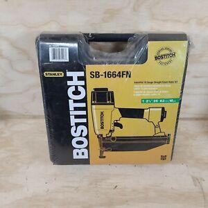 Bostitch Model SB-1664FN 16GA. Straight Finish Nail Gun.Sealed