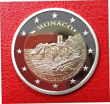 MONACO 2 euro 2015 800 ans de la FORTERESSE. Tirage 10 000.