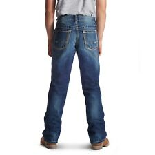 Ariat® Boy's B5 Slim Boundary Stackable Straight Leg Jeans 10018338