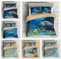 3D Sea Turtle Bedding Set Animal Duvet Cover Pillowcase Quilt/Comforter Cover