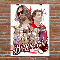 The Big Lebowski alternative movie poster canvas print