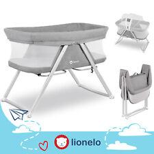 Lionelo Vera faltbares Kinderbett 3in1 Baby Reisebett Laufstall Kinderwippe Grau