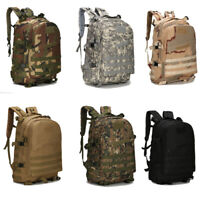 3D Army Military Tactical Trekking Rucksack Hiking Camping Bag Backpack Camo NEW