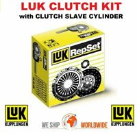 LUK CLUTCH with CSC for VW TRANSPORTER Platform/Chassis 2.5 TDi Syncro 1998-2003