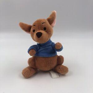 Disney Store Winnie the Pooh ROO KANGAROO Plush Stuffed Animal Soft Cute