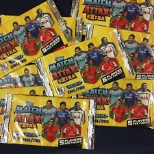 50 New TOPPS MATCH ATTAX Extra 2014/15 Unopened Barclays Premier League