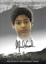 Harry Potter Authentic AUTOGRAPH card DEAN THOMAS (Alfred Enoch) OOTP